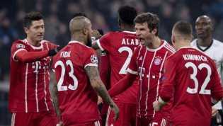 Bayern Munchen Menang 5-0 atas Besiktas