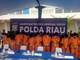 Polda Riau Bongkar Judi Online di Komplek Pemuda City Walk Pekanbaru