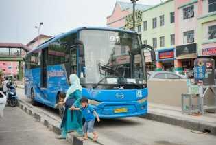 Asyik, 40 Bus Trans Metro Pekanbaru Kembali Beroperasi