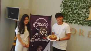 Jajal Citarasa Swedia, Artis Caesar Hito Buka Toko Kue Ozcar Riau di Pekanbaru