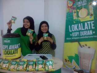 Wdank Lokalate Kopi Durian, Disukai Tamu Meet and Up