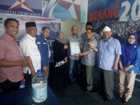 Pendaftaran Bacaleg Demokrat DPD Riau Diikuti 76 Orang