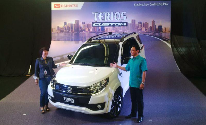 Daihatsu Lahirkan SUV Terios Custom
