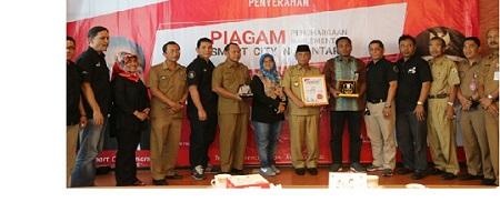 PT.Telkom Tbk Beri Apresiasi dan Penghargaan Smart City Nusantara Bagi Kabupaten Pelalawan