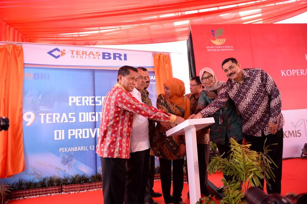 Gubri Resmikan E-Warong KUBE-PKH Koperasi Masyarakat indonesia