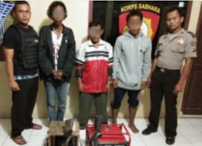 Pasang Jerat Babi Beraliran Listrik, 3 Pria di Kemuning Diamankan Polisi