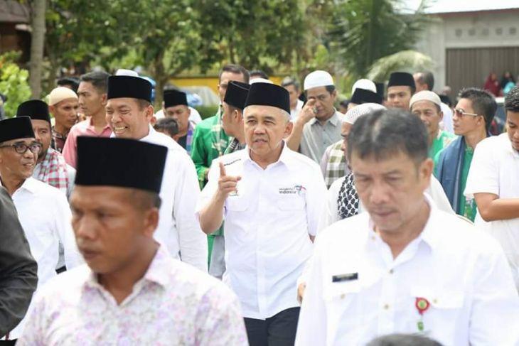 Gubri dan Wako Hadiri Hari Raya Puasa Enam di Bangkinang