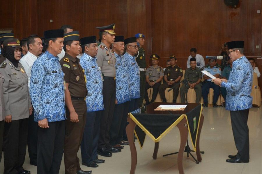 Walikota Dumai Kukuhkan Tim Saber Pungli