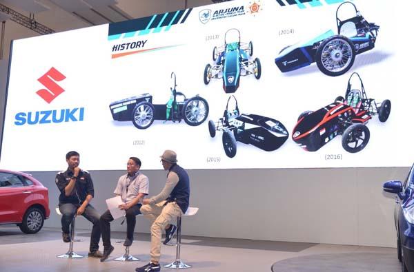 Suzuki Dukung Inovasi Baru Misi Penjelajahan ke Bulan dan Pengembangan Mobil Listrik