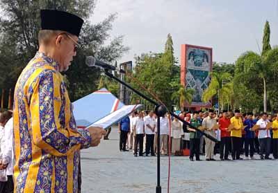 Walikota Dumai Pimpin Deklarasi Damai Pemilu 2019