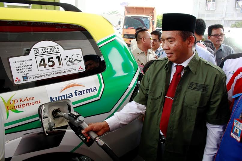 Walikota Dukung PSF Promosikan Pekanbaru