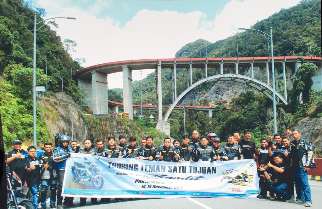 """""""Suzuki GSX150 Bandit, Lakukan Touring 2 Provinsi"""""""