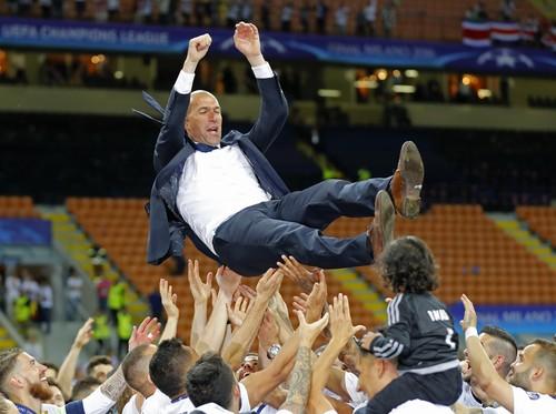 Terwujudnya Mimpi Zinedine Zidane