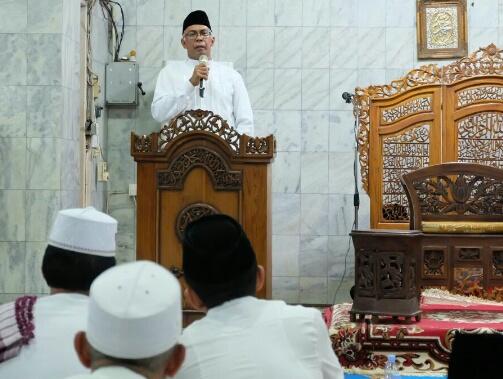 Hadiri Peringatan Nuzulul Quran, Pjs Bupati Inhil Harapkan Masyarakat Cinta dan Gemar Membaca Al Qur