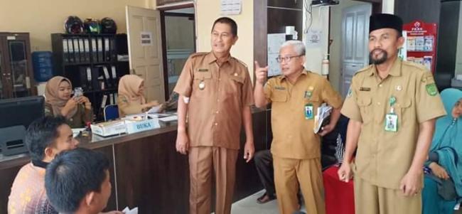 Wabup Inhil Samsudin Uti Kunjungi RSUD Puri Husada Tembilahan.