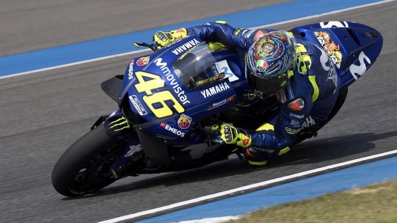 Yamaha Yakin Rossi  Teken Kontrak Baru