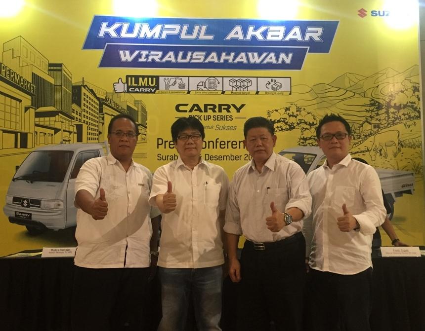 Suzuki Carry Pick Up Andalan Konsumen Indonesia Lebih dari 40 Tahun