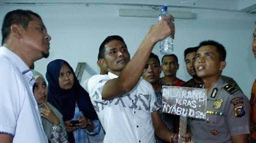 Ada Pekerja Lepas Yang Pesta Sabu di DPRD Riau