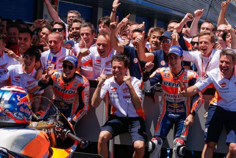 Marquez dan Pedrosa Puas dengan Kerja Tim Honda