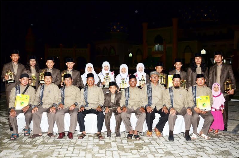 Bengkalis Raih Juara Empat MTQ Riau