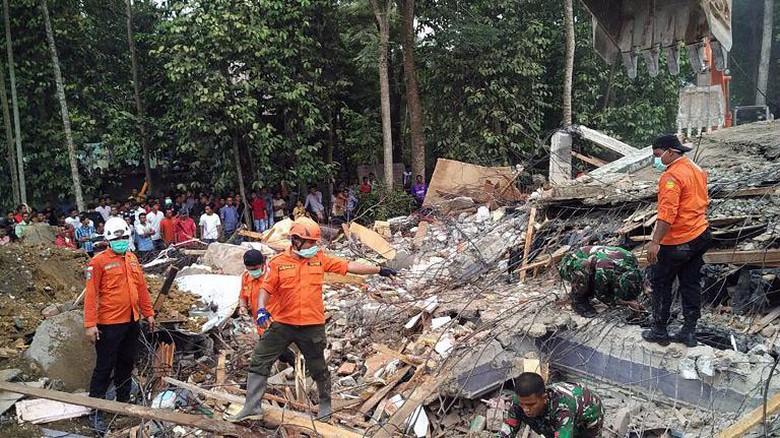 BNPB: 25 Orang Meninggal, 26 Luka Berat di Pidie Jaya