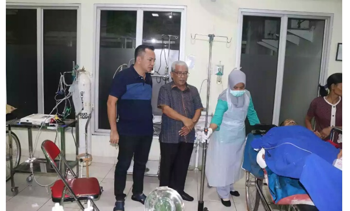 Dentuman Dahsyat Tabung Gas Elpiji di Inhil, 10 Puluh Orang Luka-luka