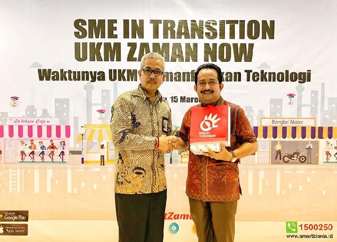 Dorong Ekonomi Masyarakat, Telkom Riau Berikan Pelatihan UKM Berbasis IT