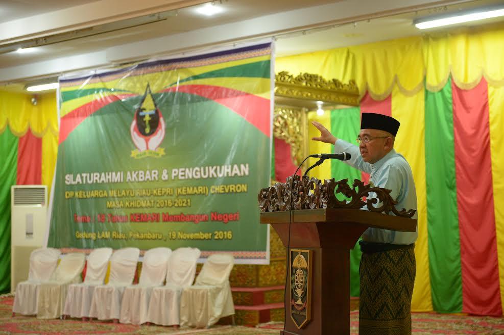 Gubri Hadiri Silahturahmi Akbar & Pengukuhan DPP KEMAR