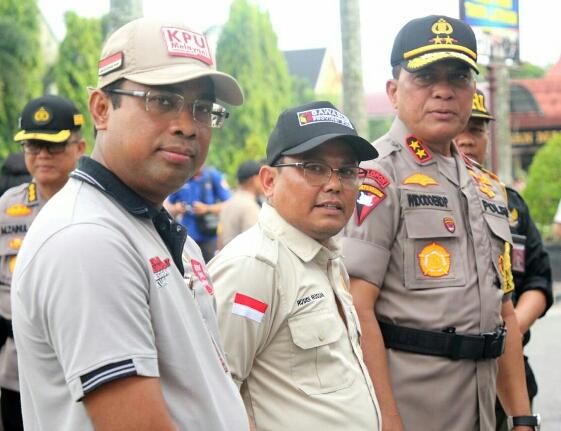 Masa Tenang, Polda Riau dan Bawaslu Gelar Patroli Antisipasi Money Politik