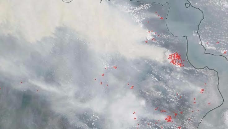 Warga Dumai Mulai Terserang ISPA Akibat Kabut Asap