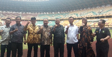 Komisi V DPRD Riau Sidak Stadion Utama Riau