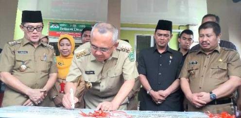 Gubernur Riau Resmikan Puskesmas Jaya Mukti di Dumai