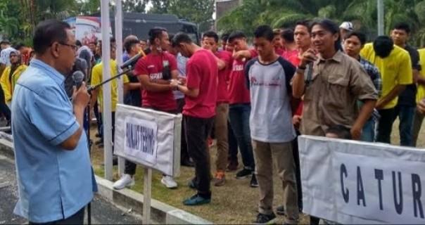 KONI Riau Pelajari Pedoman Latihan Atlet Dimasa New Normal