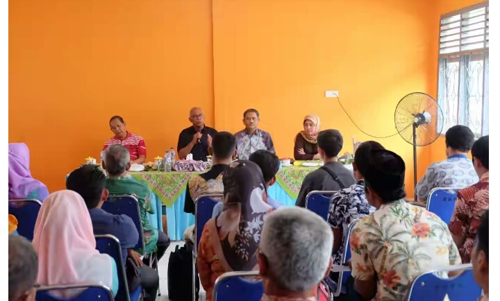 Pj Bupati Inhil Bersama Sekdaprov Riau Lakukan Dialog Interaktif Dengan PPKL