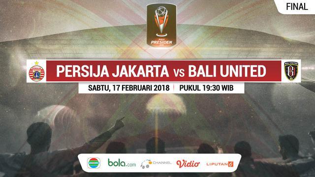 Prediksi Persija vs Bali United: Momen Berebut Gelar Juara