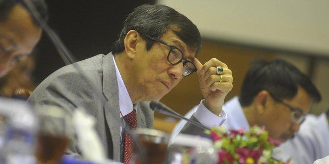 Rapat DPR dan Menkum HAM, makin malam makin panas