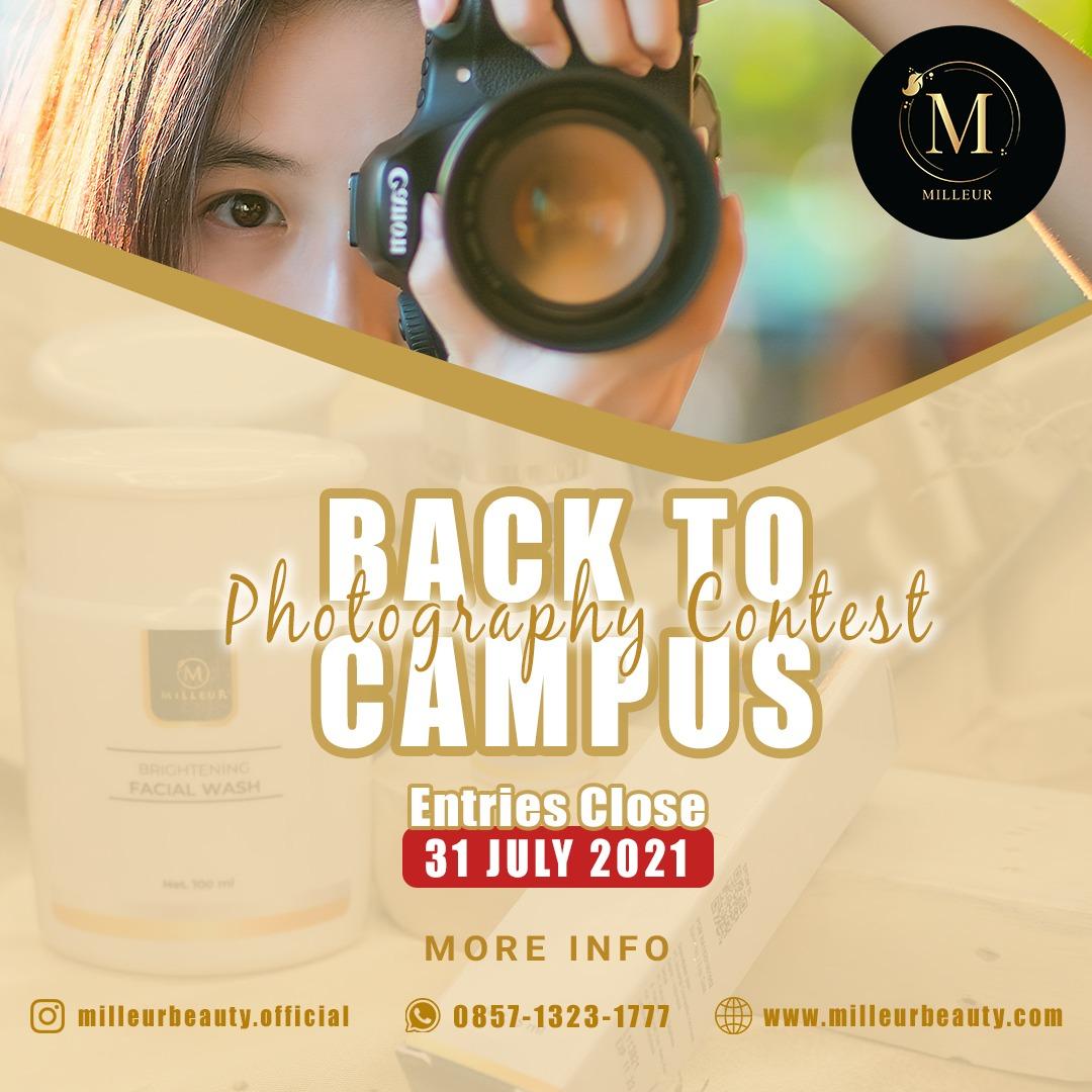 Milleur Beauty  Gelar Lomba Foto Back To Campus