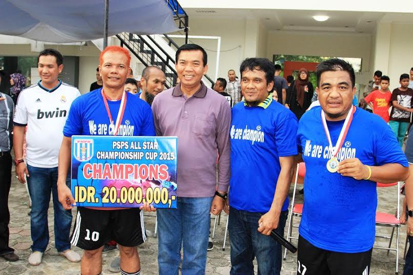 Walikota Tutup Turnamen PSPS All Star Championship