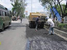 Progres Tambal Sulam Jalan di Pekanbaru Baru 20 persen