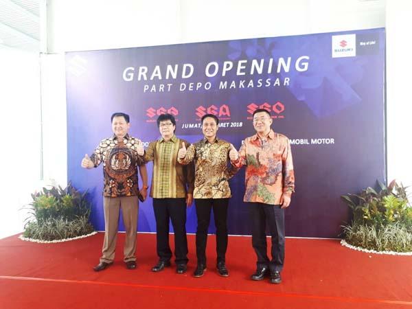Suzuki Bangun Depo Pertama di Makassar