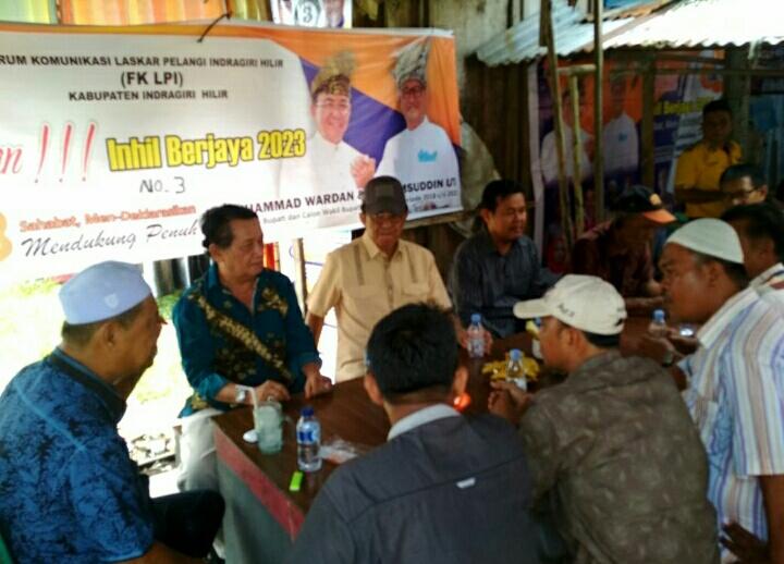 Tim Laskar Pelangi Coffee Morning Bersama Wardan-SU