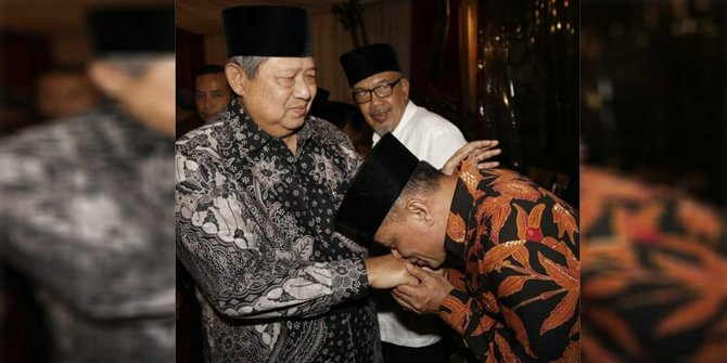 Usai cium tangan SBY, kader harap Gatot gabung Demokrat