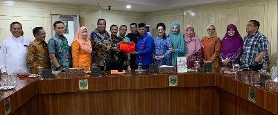 Komisi V DPRD Riau Disambut Karo Kesra Sedaprov Sumut