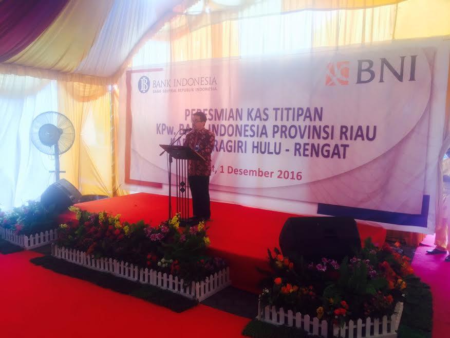 BNI Rengat Ditunjuk menjadi Pengelola Kas Titipan Bank Indonesia