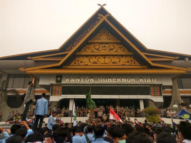 3 Kelompok Aksi Mahasiswa  Akan Kepung DPRD Riau