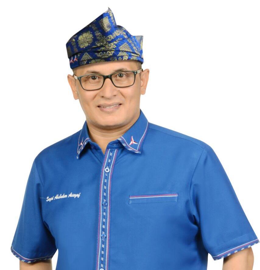 Sayyed DPR RI Asal Siak,Tegaskan Agar Pemerintah Umukan Status Darurat