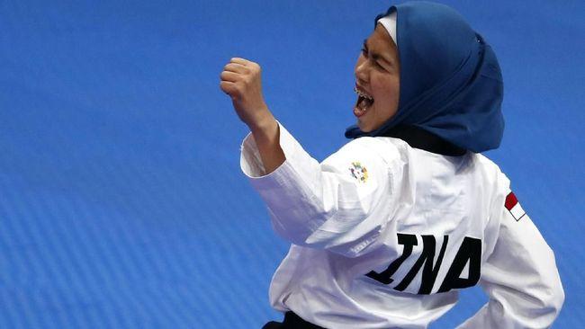 Defia Persembahkan Emas Perdana Untuk Indonesia di Asian Games 2018