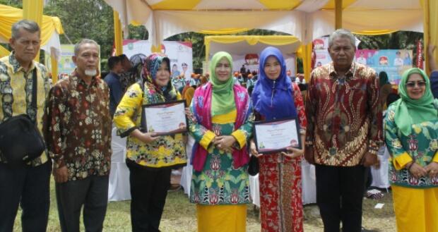 Minim Penghargaan pada Peringatan Harganas Tingkat Provinsi, Zulaikhah: Inhil Harus Lakukan Evaluasi