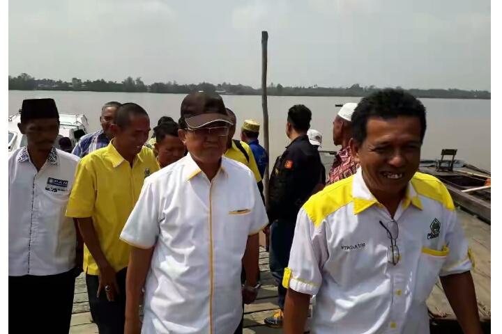 Kampanye Dialogis Perdana, Wardan-SU Semangat dan Antusias Ingin Bertemu Warga