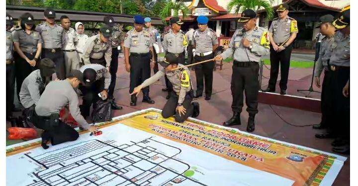 Polres Inhil Siapkan Personel dan Strategi Pengamanan